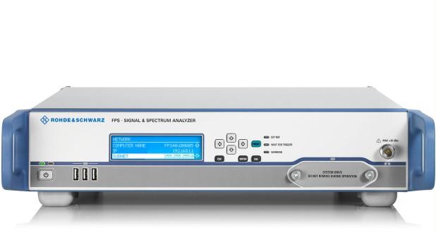 R&S®FPS信號和頻譜分析儀 1